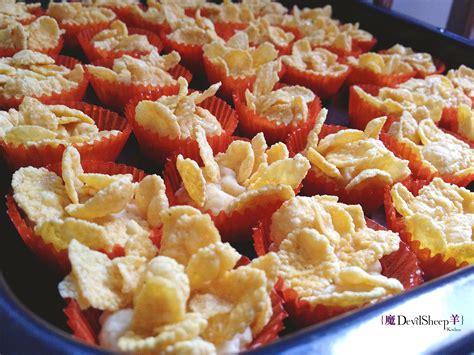 new year cornflake cookies recipe new year cookies devilsheep kitchen