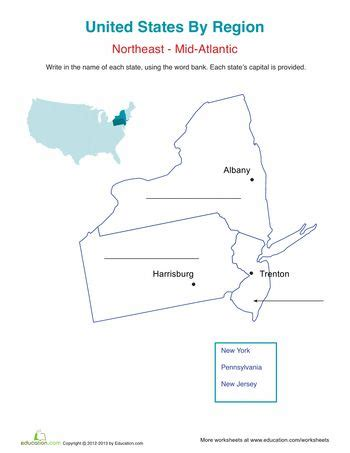 us map mid atlantic region the map the o jays and children on