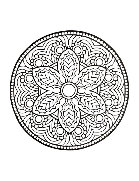 Mandala Coloring Pages Pdf Az Coloring Pages Mandala Coloring Book For
