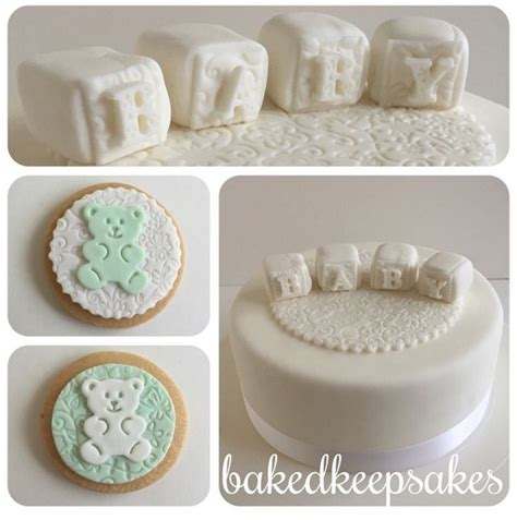 All White Baby Shower Cake by 17 Best Images About Baked Keepsakes On Themed