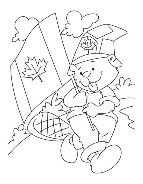 coloring pages canadian animals canada day coloring pages family holiday net guide to