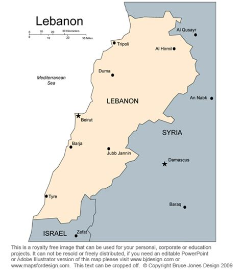 middle east map lebanon syria free middle east and central asia countries printable