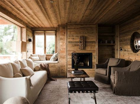 Mountain Chalet Interior Design rustic mountain chalet in switzerland provides relaxed