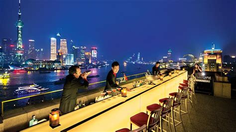 Best Roof Top Bars by Sir Elly S Terrace Rooftop Bar The Peninsula Shanghai