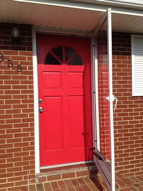 red front door and bold house exterior traba homes red front door and bold house exterior traba homes