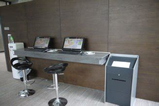 kiosks installed in customer electronic information centre