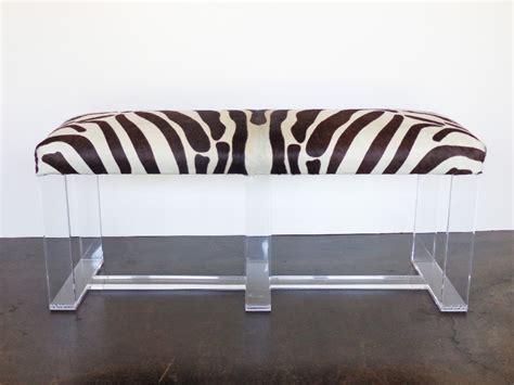 zebra bench zebra hide bench mecox gardens