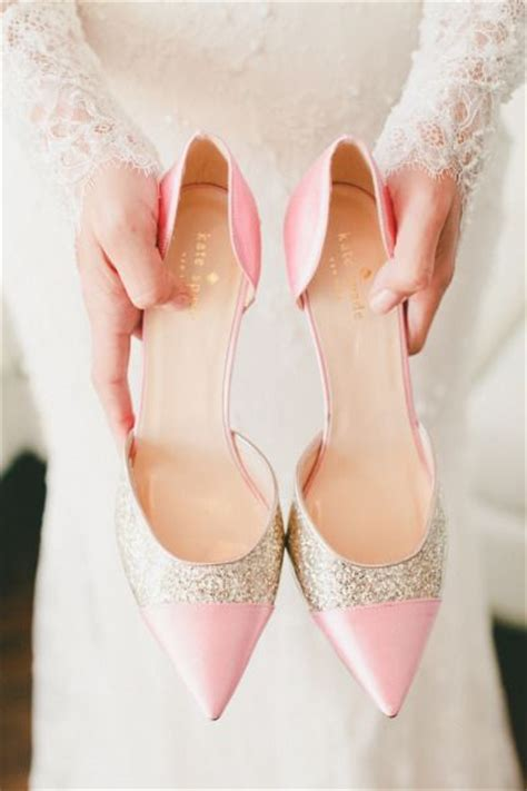 pink and gold sparkly kate spade shoes http www