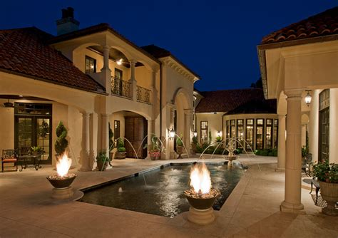 Ballard Design Pillows courtyard villa mediterranean pool other metro by