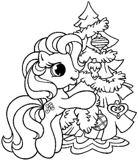 Coloring Page Christmas Tree Coloring Home Coloring Page Of A