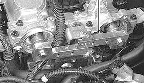 exhaust cam gear attachment  vvt