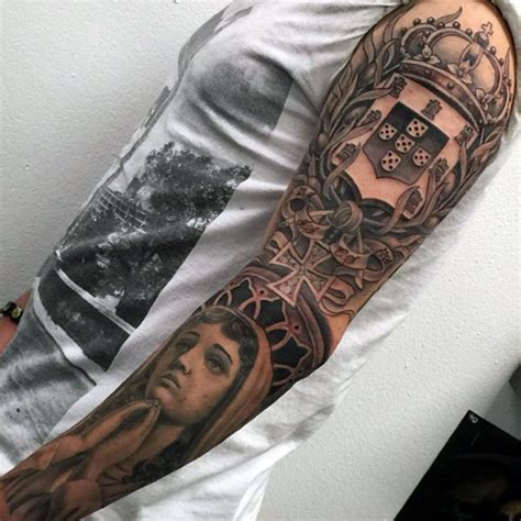 tattoo arm family 50 family crest tattoos for men proud heritage designs