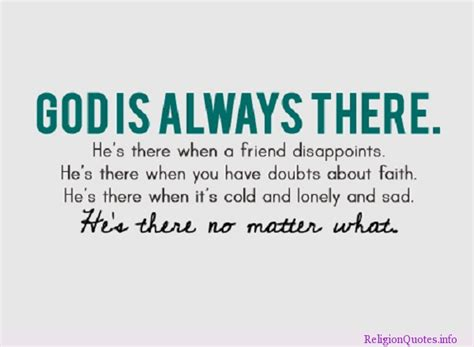 Always There god is always there quotes quotesgram
