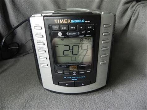 timex indiglo am fm cd stereo digital dual alarm clock radio model t600b exc ebay