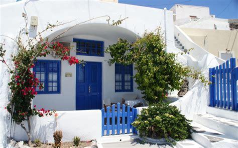 Waterfall Decoration For Homes thira house in santorini blue island santorini thira
