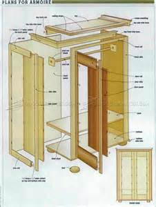 Armoire Furniture Plans Sketchup Furniture Plans Armoire