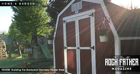 Backyard Discovery Ready Shed Reviews Review The Backyard Discovery Barn Style Ready Shed