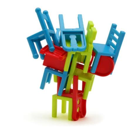 armchair gamer stacking chairs game in a tin gift zone