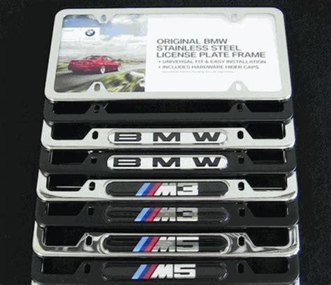 bmw m5 license plate frame bmw license plate frames bmw