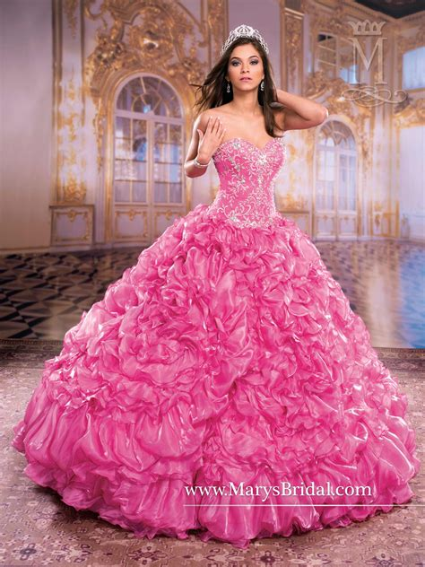 quinceanera themes princess pink quinceanera princess dress mary s style id 4q859