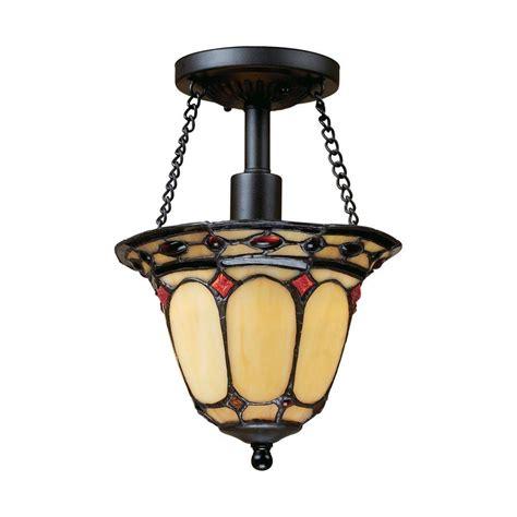 copper semi flush light titan lighting circeo 2 light deep rust ceiling semi flush