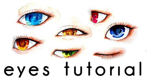 watercolor tutorial eyes eye watercolor painting tutorial doovi