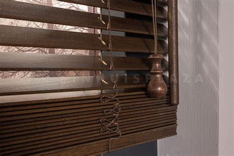 houten jaloezieen op maat 25mm houten jaloezie 25mm 100 op maat inhuis plaza