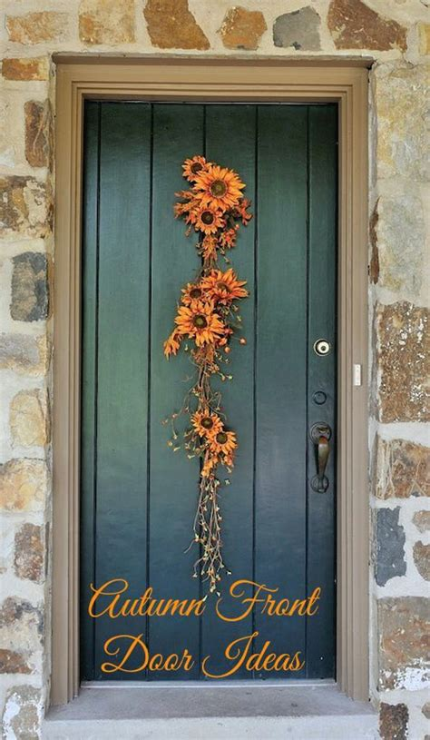 love a mustard colored front door houston foodlovers simple tips to bring autumn to your front door this season