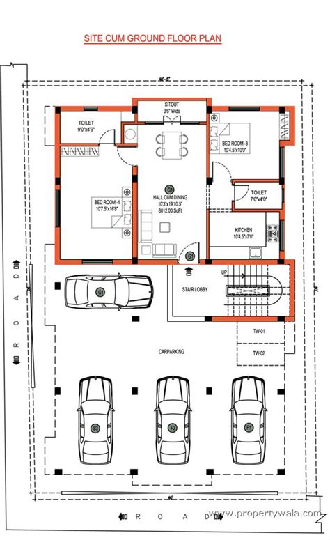 ground floor plan jkb sri guna kolapakkam chennai residential project
