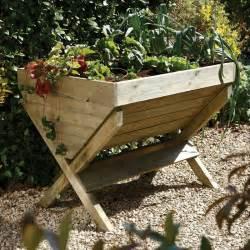kitchen garden trough vegetable growing trug raised bed 35