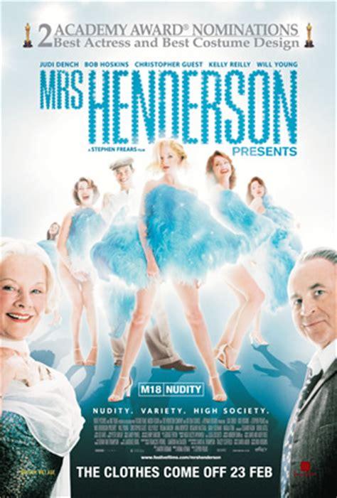 mrs henderson presents 2005 posters traileraddict mrs henderson presents 2005 movie