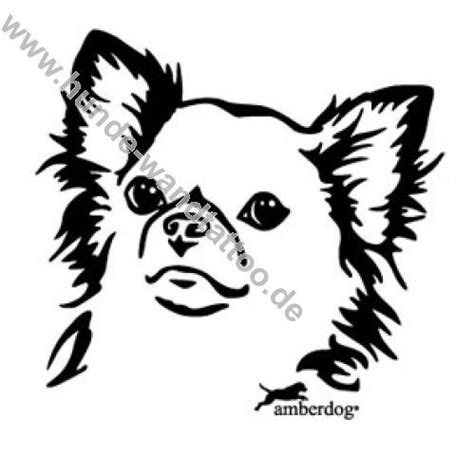 silhouette tattoo paper instructions chihuahua silhouette patterns chihuahua langhaar
