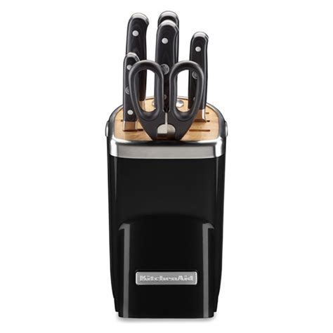 Kitchen Aid Knives by Kitchenaid 174 7 Piece Professional Knife Set Onyx Black