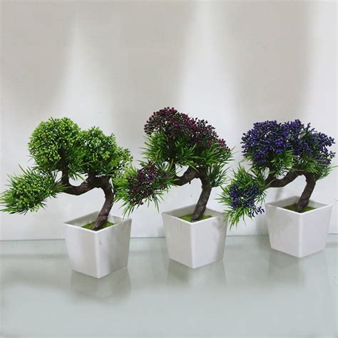 fake plants for home decor aliexpress com buy creative decorative emulate pine