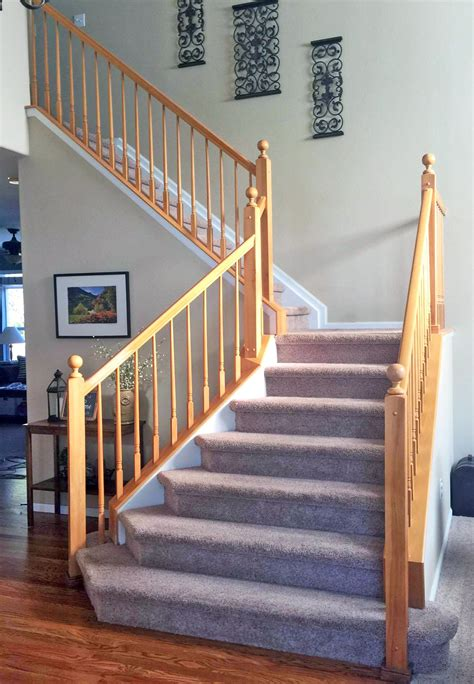 antique walnut gel stained stairs general finishes design center