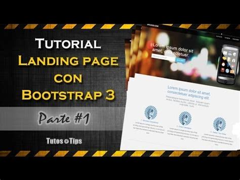 bootstrap tutorial one page tutorial landing page rapidamente con bootstrap 3 parte