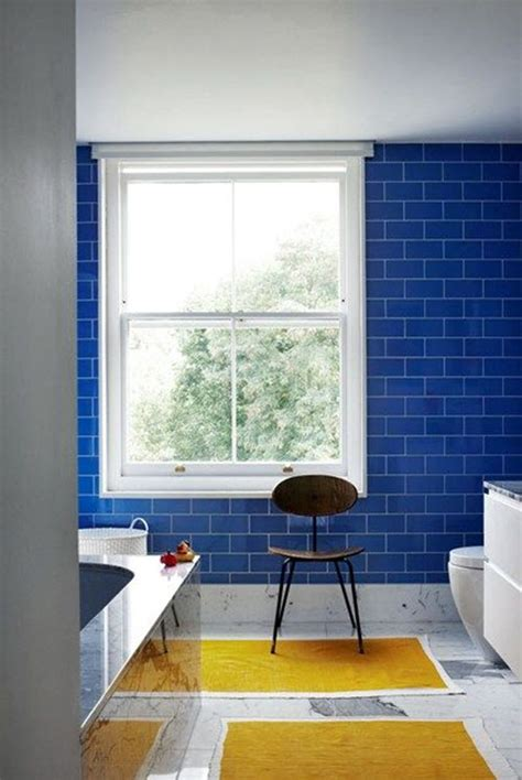 blue tile bathroom ideas 35 cobalt blue bathroom tile ideas and pictures