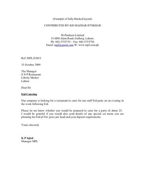 block cover letter modified block cover letter format