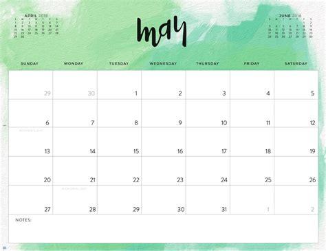 may 2018 calendar color pattern 2018 printable calendar calendar 2018