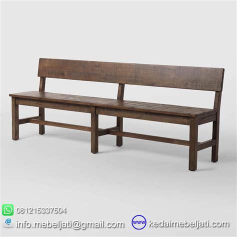 Bangku Laci Pandan Jati Tempat Duduk Mebel Jepara Furniture bangku panjang kayu jati model rustic dari kedai mebel jepara