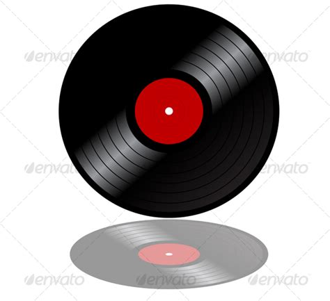 Decorative End Tables Vinyl Record Disk Graphicriver