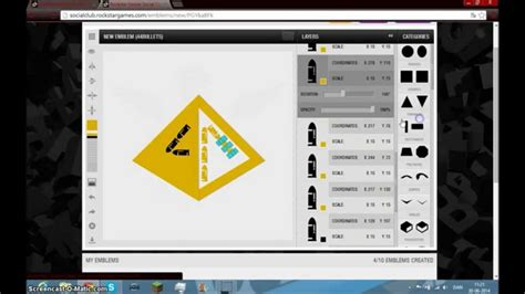 tutorial online de gta v crew emblem gta 5 online tutorial youtube