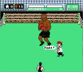 Mike Tyson Dodging Punches Mike Tyson S Punch Out Usa Rom
