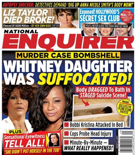 Gossip From National Enquirer by Brown Bathtub Pictures Murder Photos