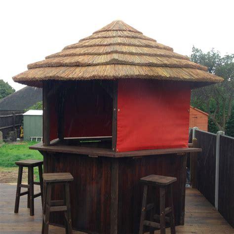 Gazebo Tiki Bar A5 Spas Gazebos Thatched Gazebos