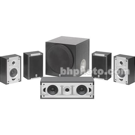 yamaha ns sp5700 home theater speakers ns sp5700bl b h photo
