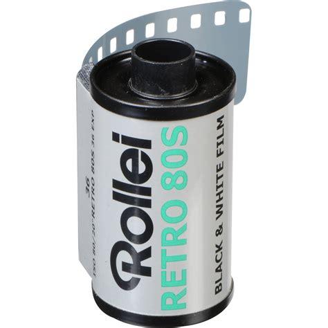 Roll 35mm Rollei Retro 80s rollei retro 80s black and white negative 810812 b h