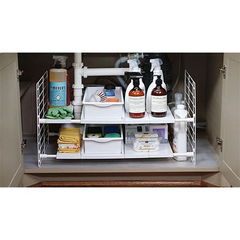 expandable sink organizer expandable sink organizer container store sinks