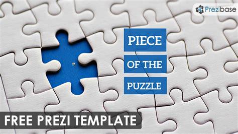 piece of the puzzle prezi template prezibase