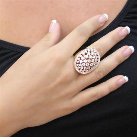Big Rings by Gold Big Ring Italian Jewelry Big Bold Ring That